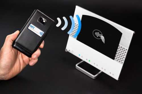 NFC - Near field communication / easy pay with mobile phone