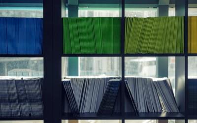 Como organizar documentos de maneira eficiente e bem planejada?